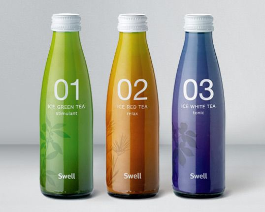 Green Swell Boxes Package Design Images