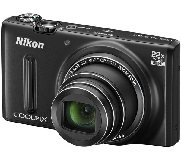 Nikon Coolpix S9600, 16 mp, 22 optical zoom