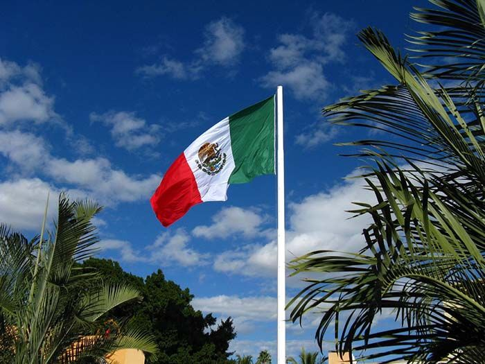 when was the mexican flag made