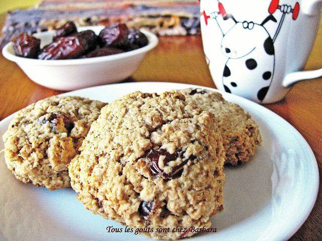 Tous les goûts sont chez Barbara: Biscuits irrésistibles à l'avoine et aux dattes Medjool