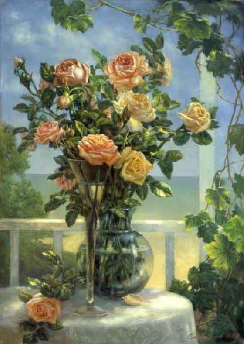 Розы на террасе - Михаил Сатаров