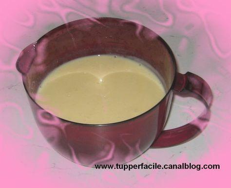 Crème Anglaise Tupperware  au Micro-Ondes