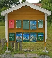 Funky eclectic mailboxes - Canada