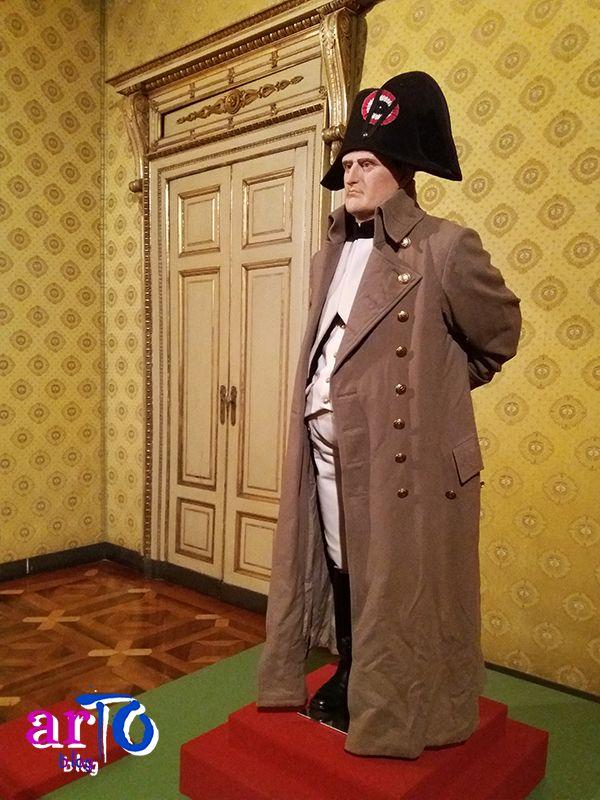 """Riproduzione di Napoleone in esilio  (exhibition """"J'arrive. Napoleone Bonaparte"""" in Turin) #history #exhibition"""