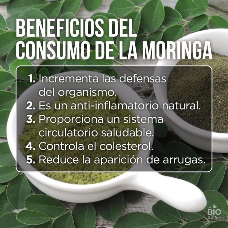 - #BENEFICIOS DEL CONSUMO DE LA #MORINGA - (imagen de La Bioguia)  Visita nuestra tienda: http://www.moringavitalmor.com