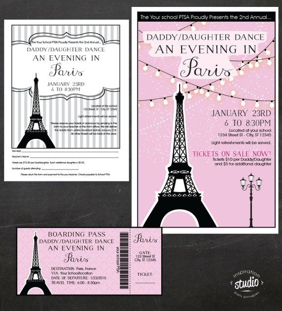 Pin On Paris Theme Sweetheart Dance