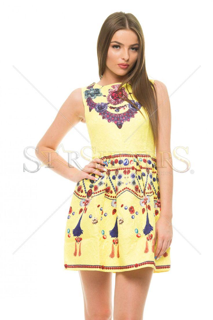 Extraordinary Light Yellow Dress