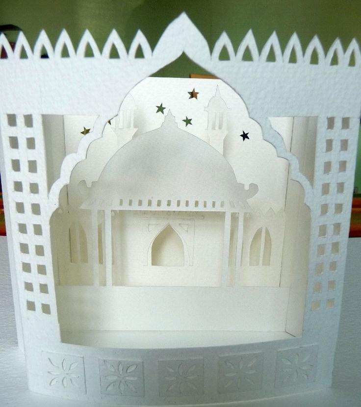 Brighton pavilion diorama made by me