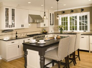 Kitchen Photos Beige And White Colors Design, Pictures, Remodel, Decor and Ideas - page 6Wall Colors, Dreams Kitchens, Kitchens Design, Traditional Kitchens, Kitchens Ideas, Kitchens Lights, Pottery Barn, Kitchens Photos, Capes Cod