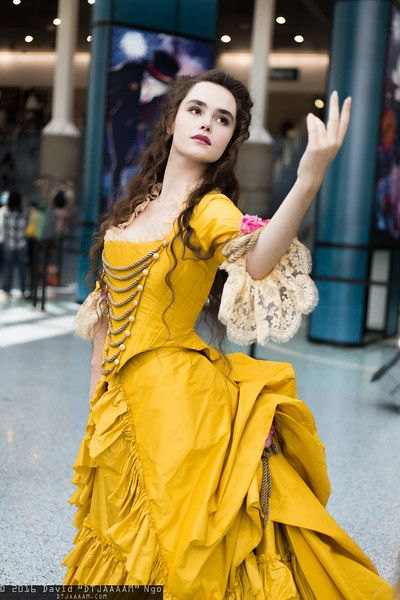 Belle. Photo by David Ngo. This is a lovely take on Belle's gown.
