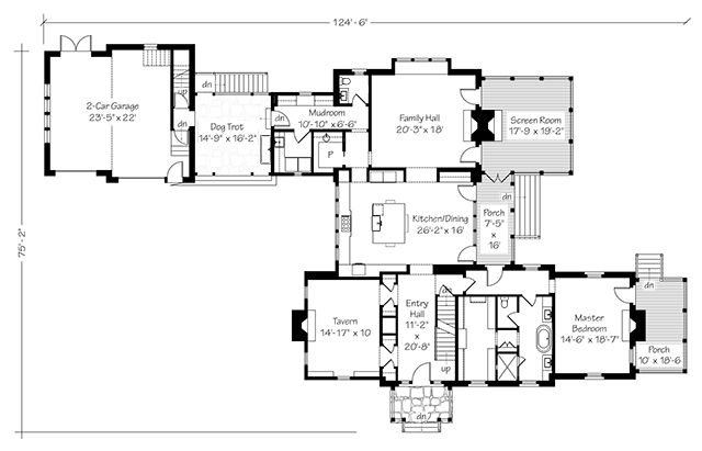 Floor Plan For 2015 SL Idea House
