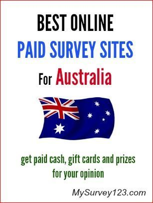 Do you live in Australia and would like to make extra money taking online surveys? This is a list of best Australian Online Paid Surveys Sites you can join to earn money. http://mysurvey123.com