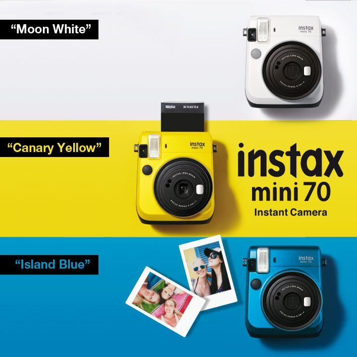 Fujifilm presenta la nuova Instax Mini 70.  Il trend del momento sembra proprio essere quello legato alla fotografia analogica. Molti i marchi impegnati come abbiamo visto. Fujifilm è senz'altro uno di questi, la sua lunga tradizione in fatto di pellicole e di fotocamere, ha permesso di continuare questo splendido modo di fotografare anche con moderni, seppur semplici, strumenti dal fascino indubbio.................