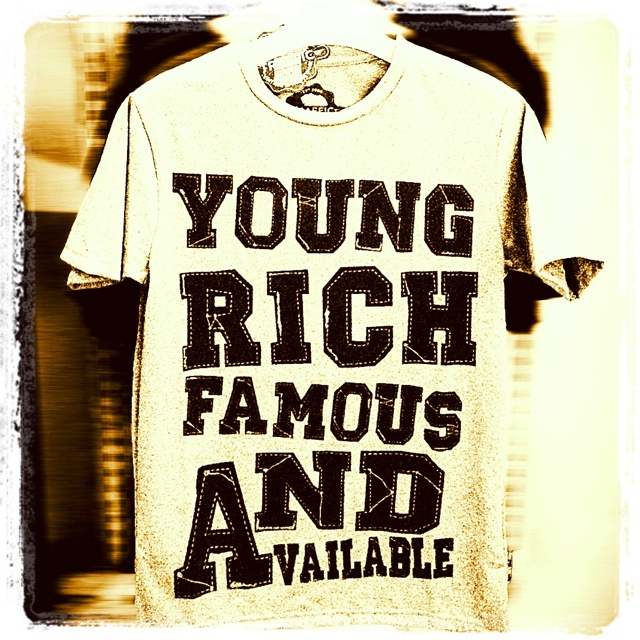 Young rich famous & available