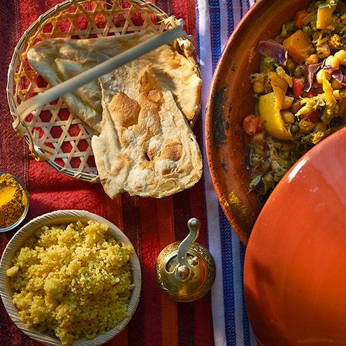 la ricetta di uno splendido e gustoso cuscus con verdure e spezie