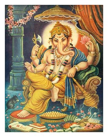 Lord Ganesha Giclee Print