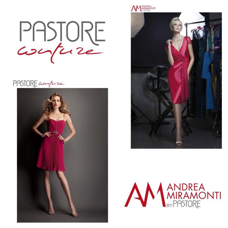 Cocktail and Evening Dresses -  - Pastore Couture - Andrea Miramonti by Pastore #reddress #couture #fashion #couturedress #cocktaildress #partydress #eveningdress www.pastore.it
