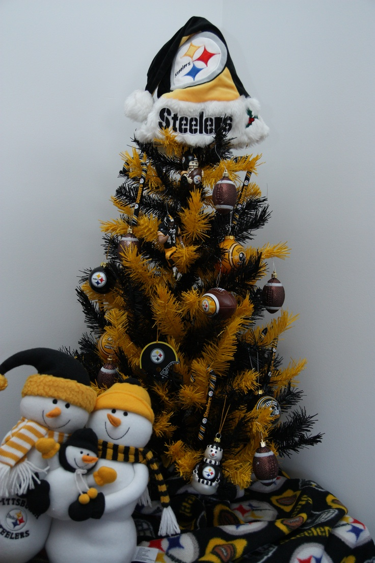 Steelers Christmas Tree Merry Xmas Steelers Fever