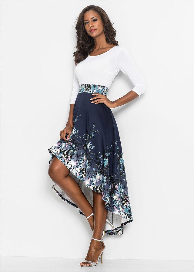 Sukienka W Kwiaty Piekna Sukienka Z 179 99 Zl Bonprix High Low Fashion Classy Dress Fashion