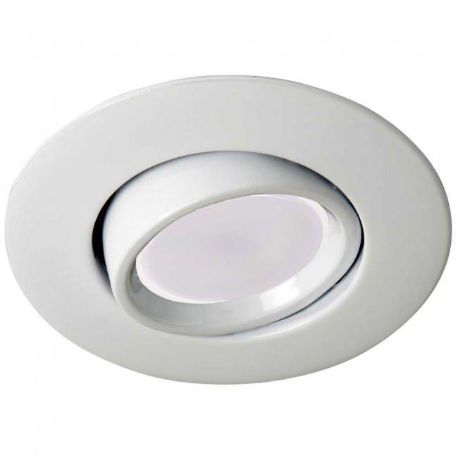 Foco De Empotrar Blanco Con Bombilla Led Luz Calida 8w Wonderlamp Bombillas Led Bombillas Focos