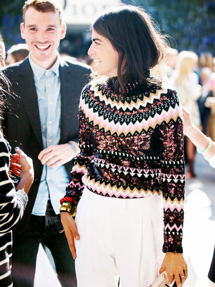 Man Repeller — whowhatwear:   It's sweater season!