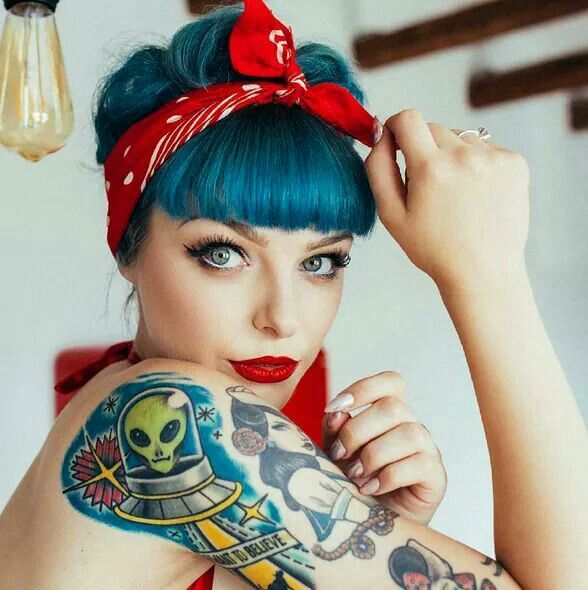 Maquillage rockabilly facile - Femme pin up ...