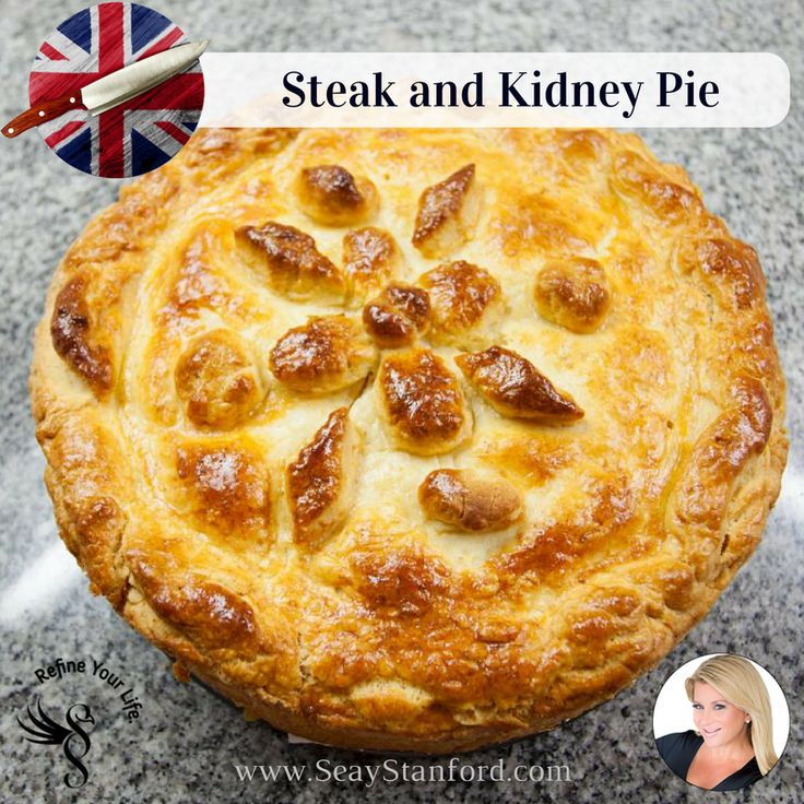 Steak and Kidney Pie - British Comfort Food Recipe