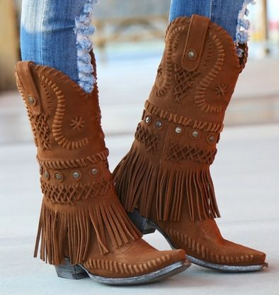 Shop the Old Gringo Chucha Suede Rust Fringe Boot L2254-2 at Rivertrail Mercantile. Enjoy fast and free shipping on all Old Gringo Boots at Rivertrail.