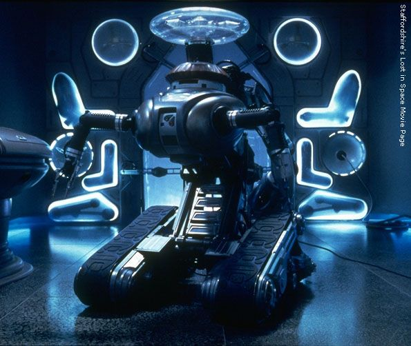 Lost in Space 2nd version of the Robot