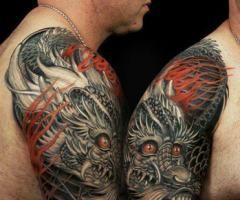 chinese dragon tattoo arm - Pesquisa Google