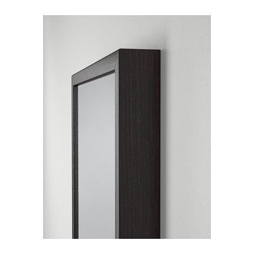 """STAVE Mirror - black-brown, 15 3/4x63 """" - IKEA"""