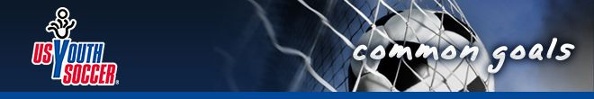 US Youth Soccer - Common Goal monthly newsletter