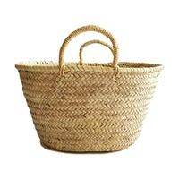 small French market basket bag