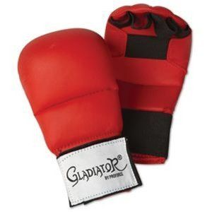 ProForce Gladiator Karate Gloves - Red - Large by Pro Force. $21.46. The ProForce Karate gloves are a great lower cost alternative to the Adidas WKF Karate gloves and the NKF Karate gloves. ProForce has added an extra crease mid glove to allow for better performance with open hand techniques, because the glove is able to pivot with your hand and you do not have to force the glove open. These glove are not officially WKF or NKF approved so check your tournament a...