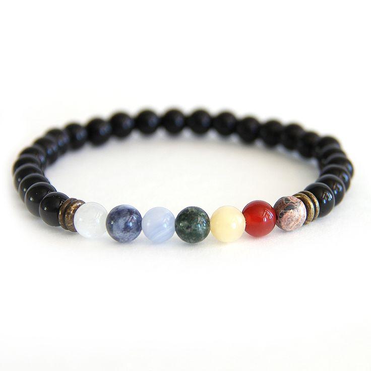 Cancer - Zodiac Seven Chakra Balancing Bracelet