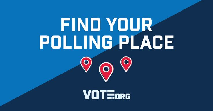 Wondering where you vote on Election Day? Use our polling place locator to find out.