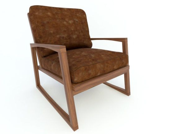 Old Model Armchair Free 3D Model in 2020 | Armchair, Old