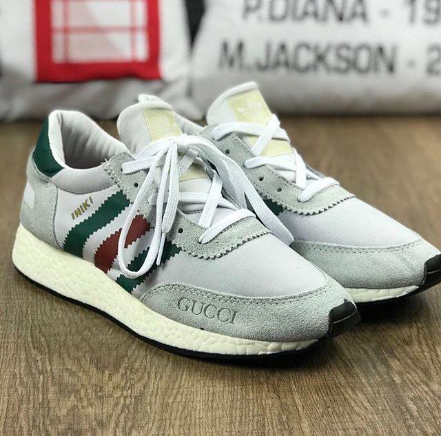 90db7a2b9f Adidas iniki cinza gucci | Shoes in 2019 | Adidas iniki, Shoes, Sneakers