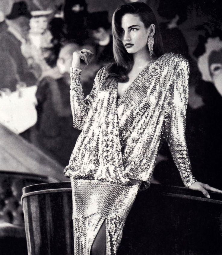 Criscione, American Vogue, November 1986. Photograph by Laspata/Decaro Studio.