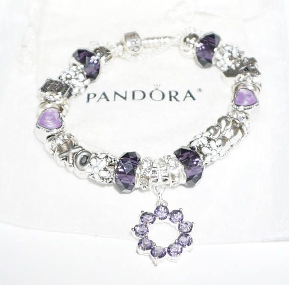 Our Love story Purple Passion Authentic Jared Pandora Authentic