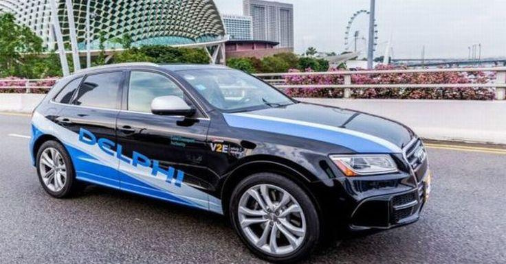 Taksi Tanpa Pengemudi Akan Diuji Coba di Singapura