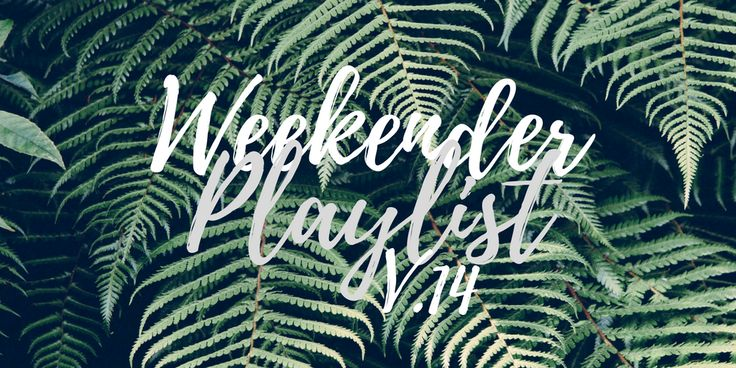 Weekender Playlist | V.14 -- Do you need some new songs to jam out to on your weekend getaway? Check out the latest Weekender Playlist, featuring Sylvan Esso, AURORA, Stormzy, and Gabrielle Aplin.