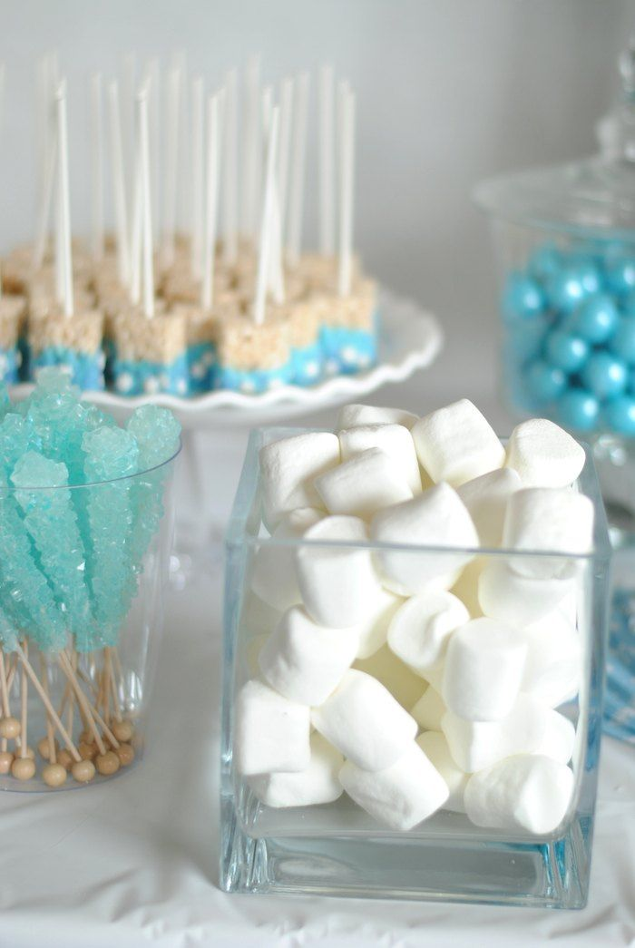 Frozen themed birthday party with Such Cute Ideas via Kara's Party Ideas