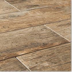 BuildDirect - ceramic tile that looks like wood...love it!
