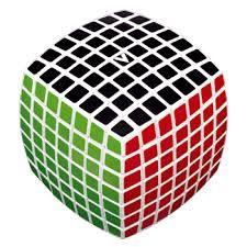V-Cube 7, cube rubique 7x7 arrondi pillowed,  Prix 59.99$. Disponible dans la boutique St-Sauveur (Laurentides) Boîte à Surprises, ou en ligne sur www.laboiteasurprisesdenicolas.ca ... sur notre catalogue de jouets en ligne, Livraison possible dans tout le Québec($) 450-240-0007 info@laboiteasurprisesdenicolas.ca Payez moins cher, obtenez en plus ici.