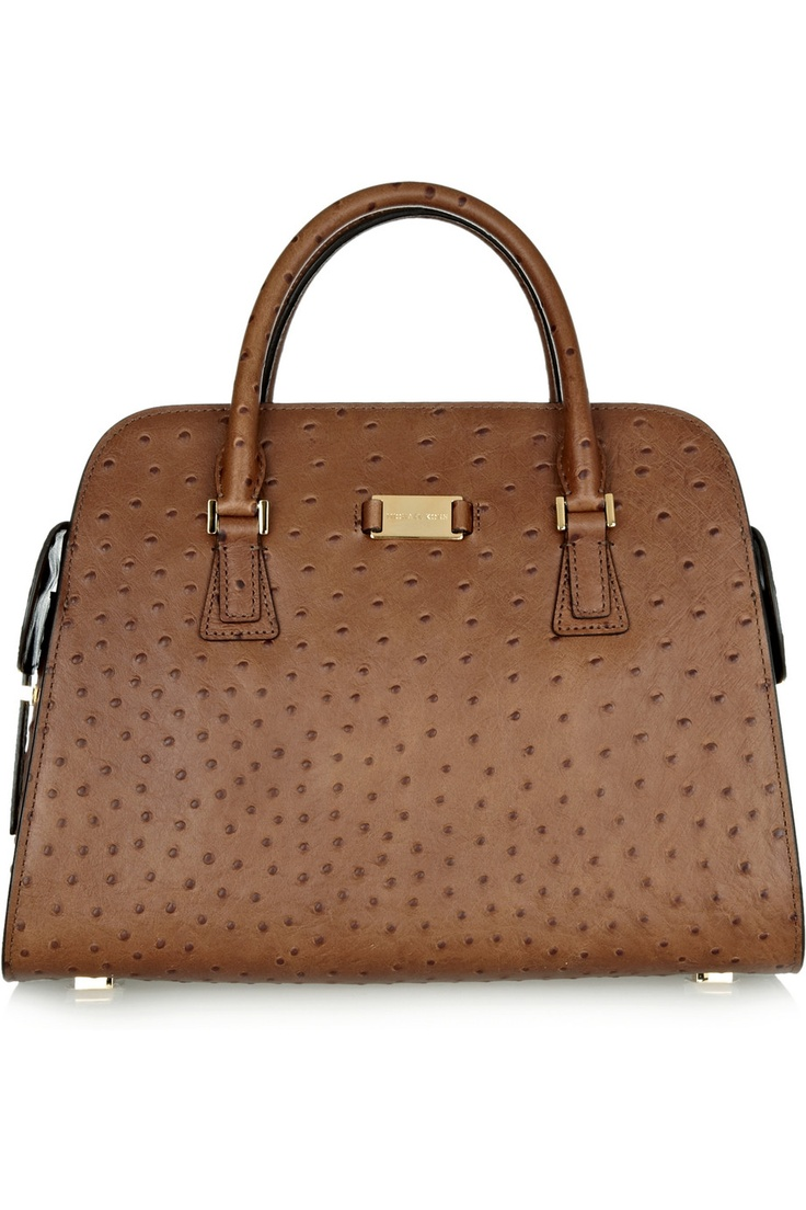 Gyeah baby: Michael Kors Gia ostrich-effect leather tote