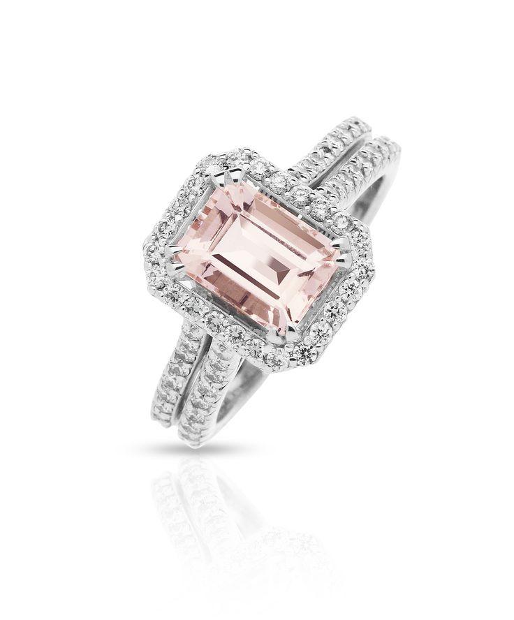 Delilah Morganite Engagement Ring – Jenna Clifford