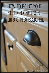 need this!: Cabinet Painting, Idea, Paint Cabinets, How To Paint, Painting Kitchen Cabinets, Painting Cabinets, Paint Kitchen