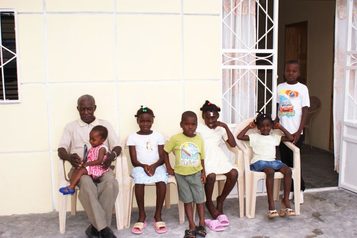 This family group from Haiti are all taking Flax Hull Lignans for sustained immune health! AIDSHIVAWARENESS.org