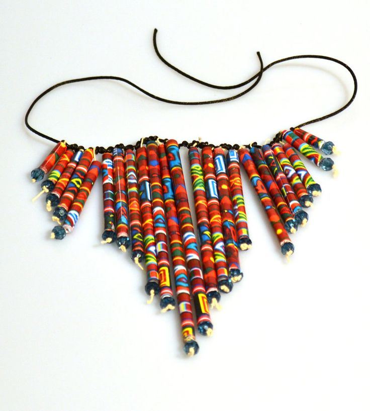 90 best african craft for kids images on pinterest for How to make african jewelry crafts